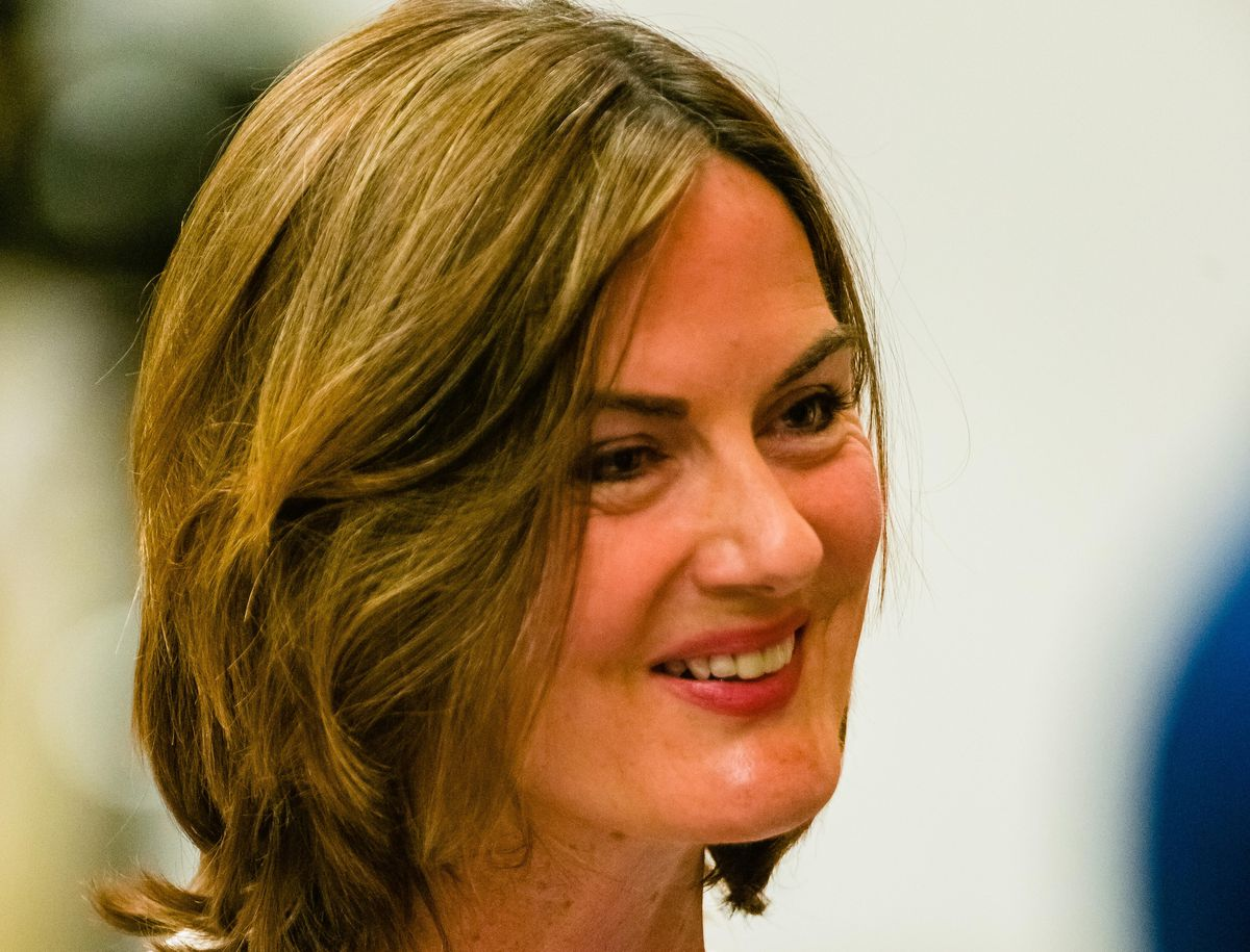 Lucy Allan at the count