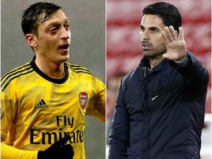 Mesut Ozil 'deeply disappointed' by Arsenal Premier League squad snub