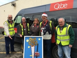 Oswestry community transport scheme is halfway to £10,000 target for new bus