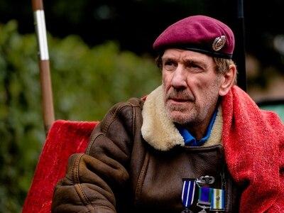 Veteran Gus Hales resumes hunger strike in Newport after hospital admission