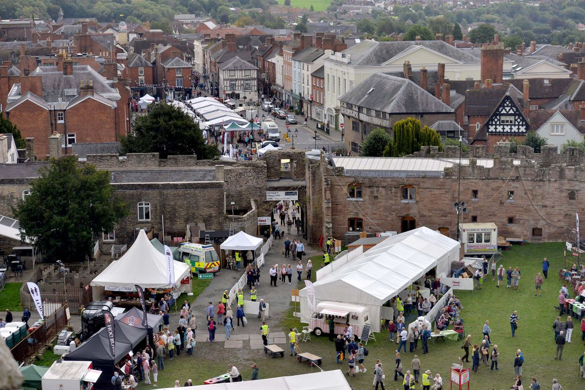 Fundraising has gone well, with generous support from exhibitors, visitors and Ludlow Food Festival friends