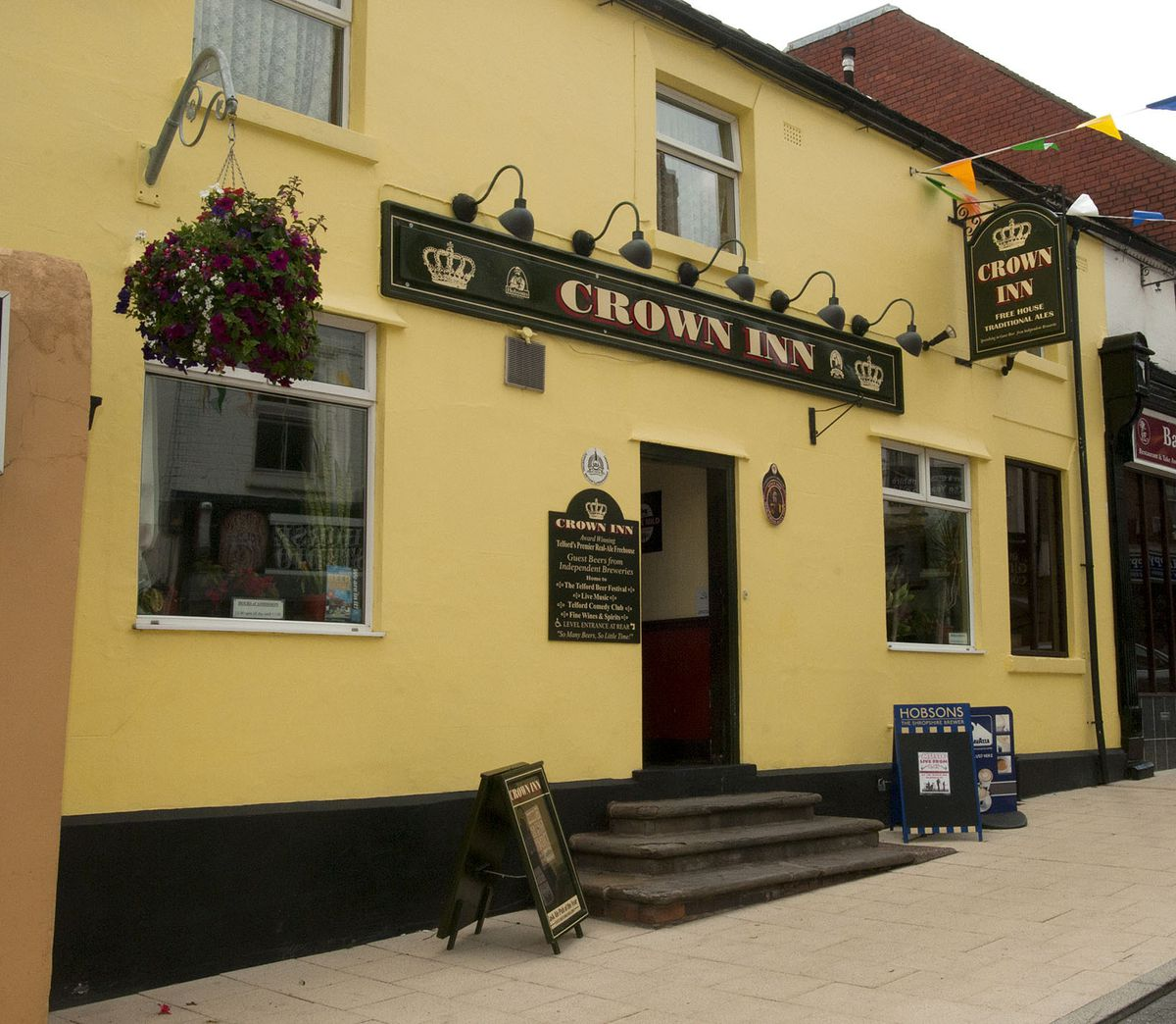 The Crown Inn at Oakengates keeps its place in the list