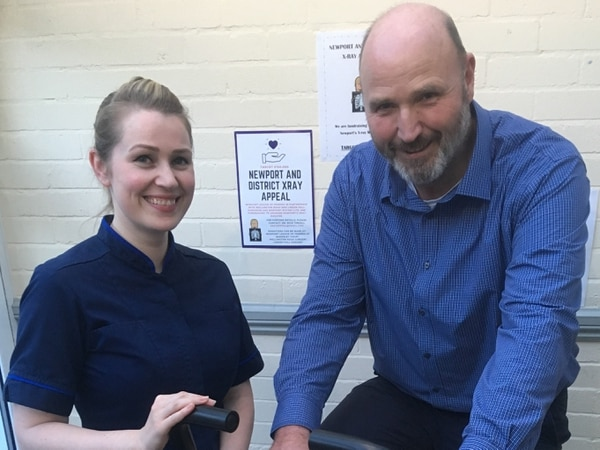 Doctors in the saddle for Newport X-ray appeal