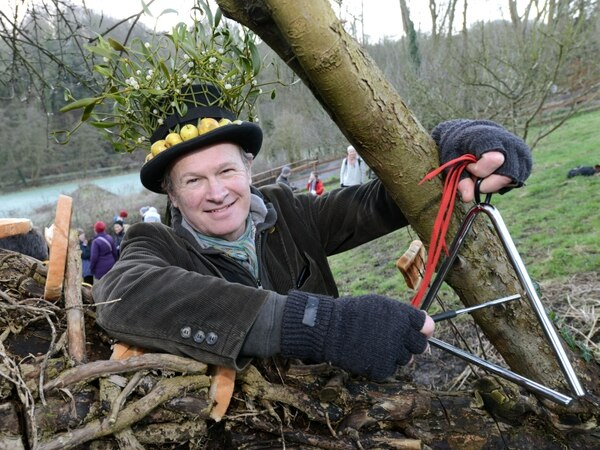 Raising toast to tree tradition in south Shropshire
