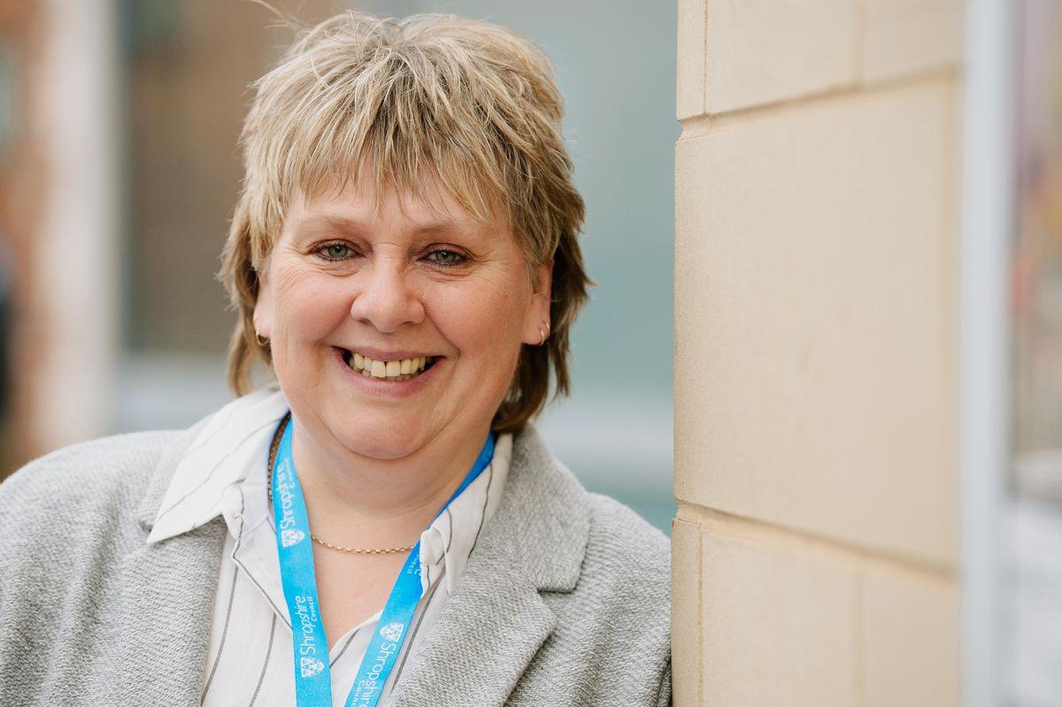 Shropshire Council leader Lezley Picton
