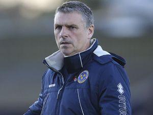 John Askey the head coach / manager of Shrewsbury Town.
