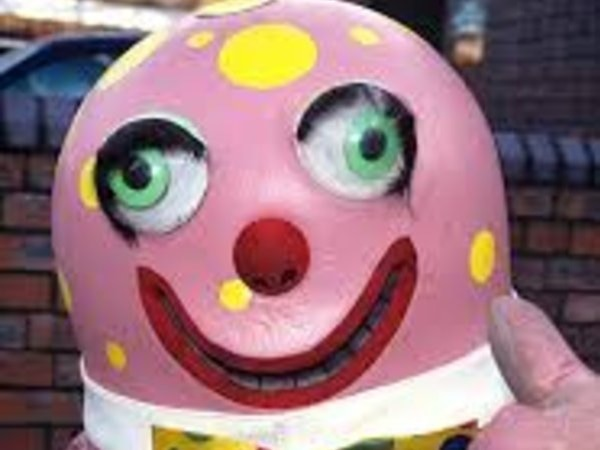 Nigel Hastilow asks: Is Mr Blobby lurking?