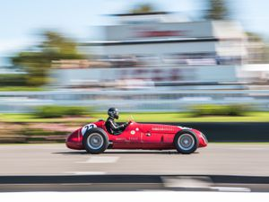 Maserati 4CLT at Goodwood Revival 2019