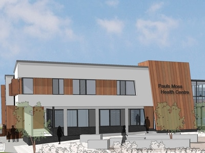 New Whitchurch health centre plans retaining mansion revealed