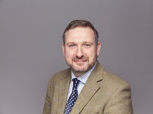 Dan Matthews, farm consultant in the Shrewsbury office of Strutt & Parker.