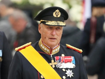 Norwegian King Harald V taken to hospital
