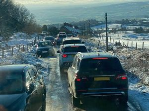 Snow and ice have exacerbated the queues seen throughout this year