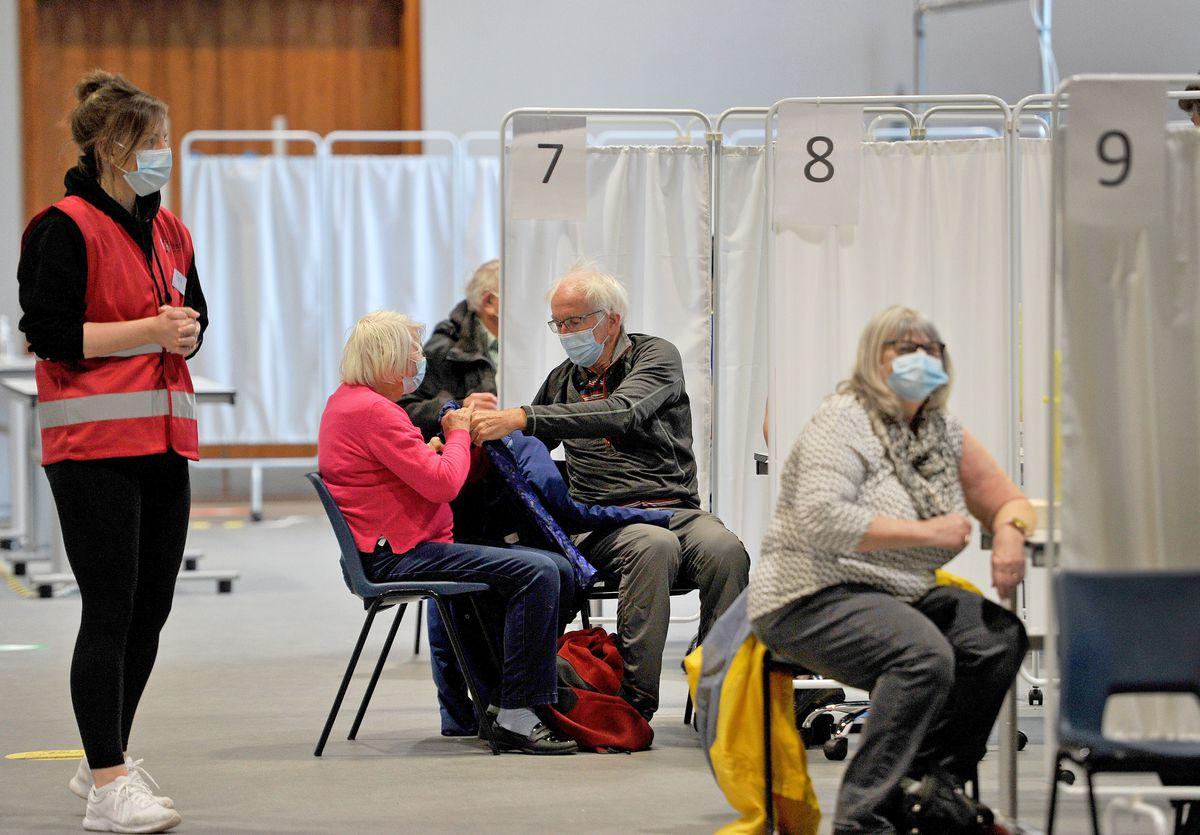 Public vaccinations begin at Telford International Centre
