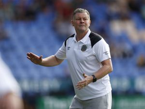 Steve Cotterill the head coach / manager of Shrewsbury Town.