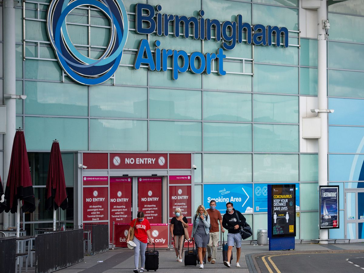 Birmingham Airport is set to host a customs check site