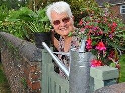 Sylvia helping Telford church bloom
