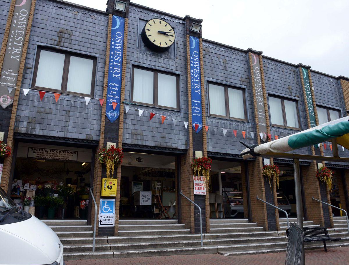 Oswestry's Indoor Market