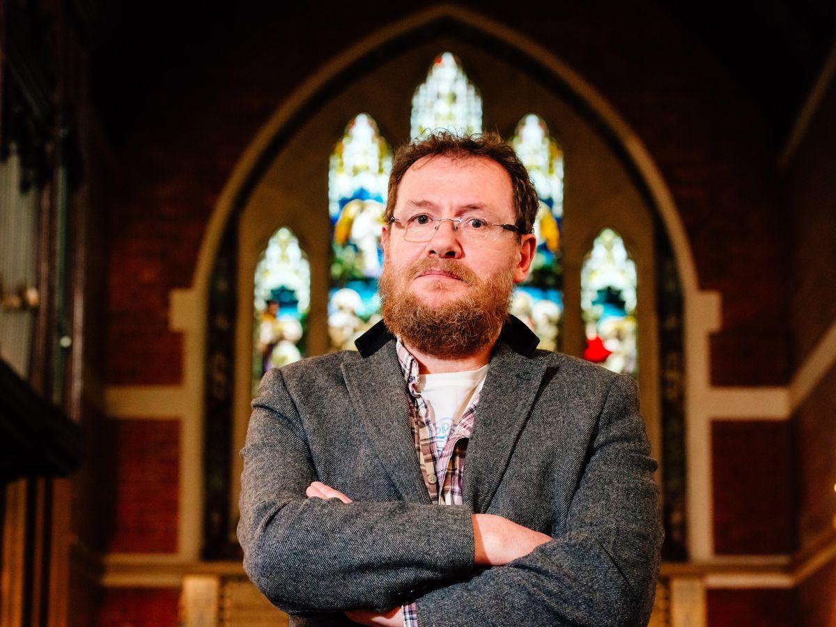 Chris Jones, who owns At Anne's Church in Lea Cross
