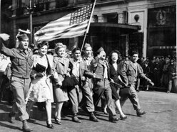 VJ Day: Spontaneous outburst of joy at war's sudden end