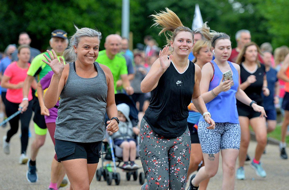 Parkrun returns to Telford Town Park