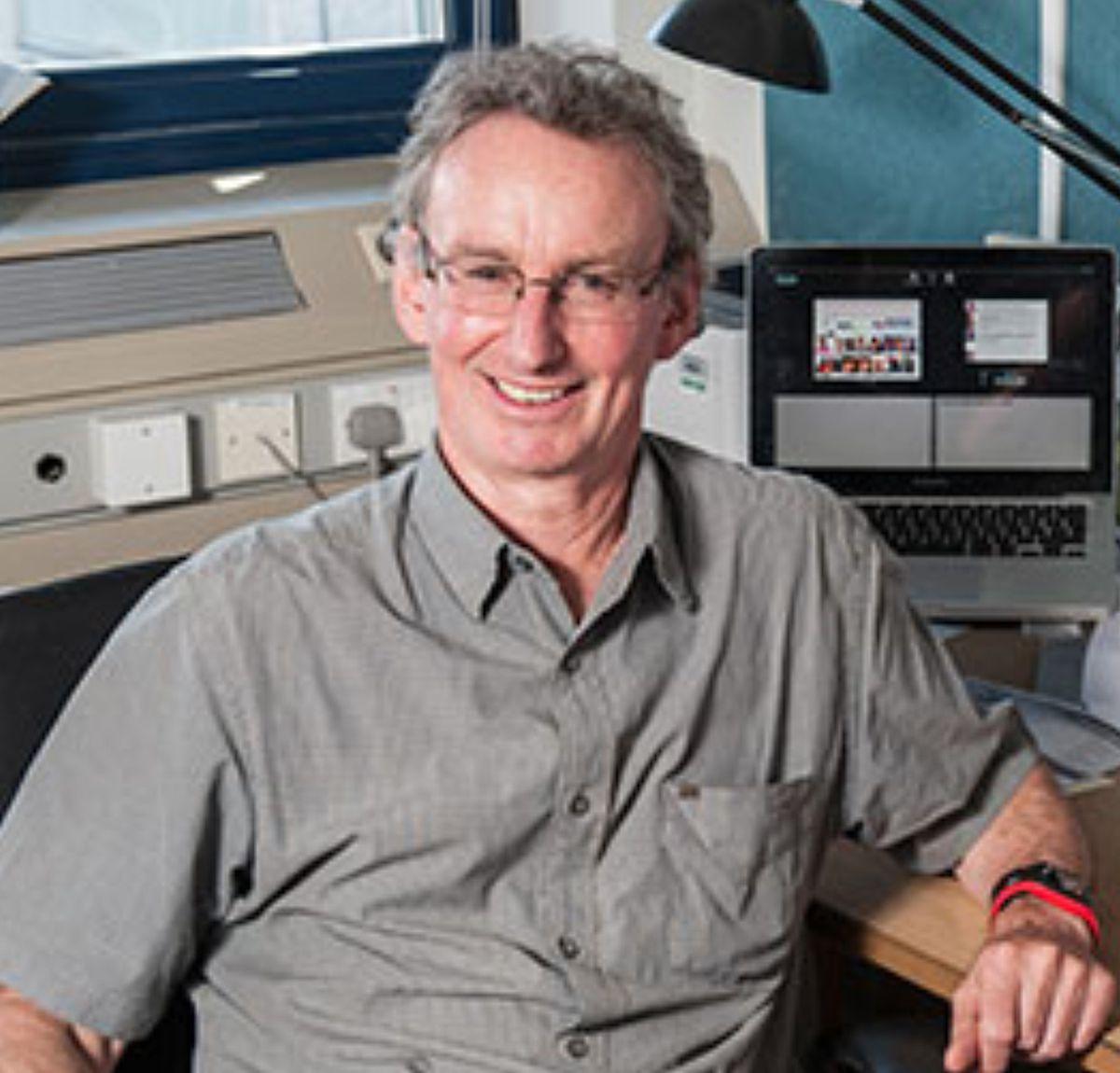 Professor Jonathan Jones of The Sainsbury Laboratory.