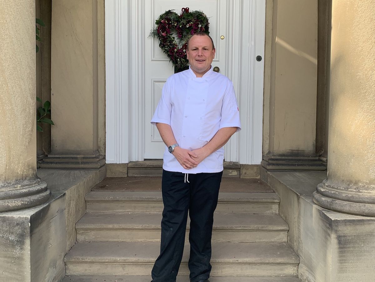 Gareth Jones - Development Chef at Iscoyd Park