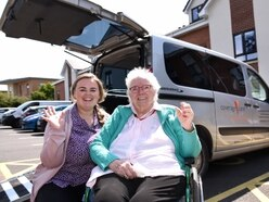 Shrewsbury care home residents get mobile with new minibus
