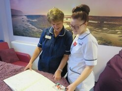 'It's like we have come full circle': Georgina is trained by the midwife who delivered her
