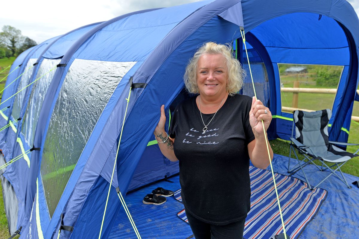 Nicky Collins said she loved the site for where it was and the facilities it had