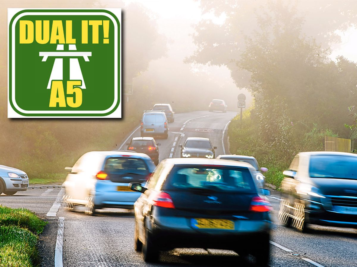 The A5 north of Shrewsbury is a dangerous road for motorists but pressure is growing for it to be made a dual-carriageway