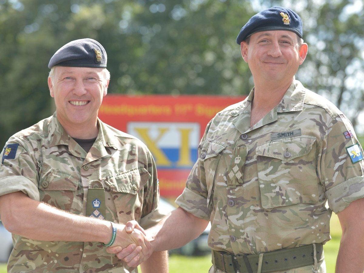 New brigadier takes charge of soldiers