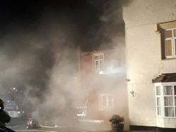 Seven fire crews tackle Shrewsbury care home blaze