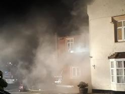 Seven fire crews tackle Shrewsbury care home blaze
