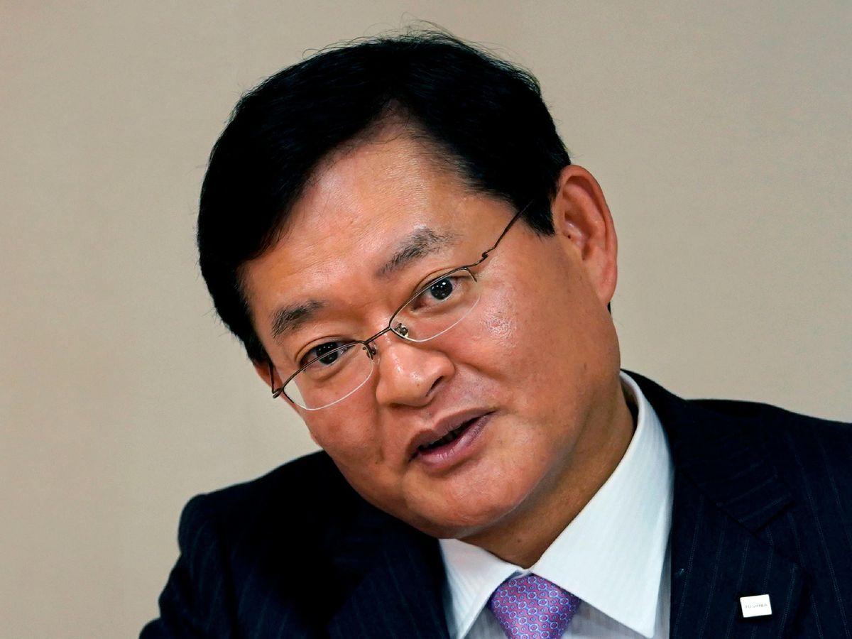 Toshiba chief