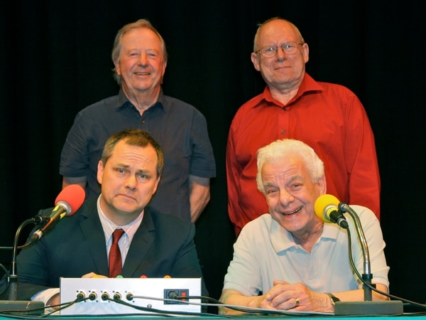 Stellar cast of comedians in Shrewsbury for recording of BBC show