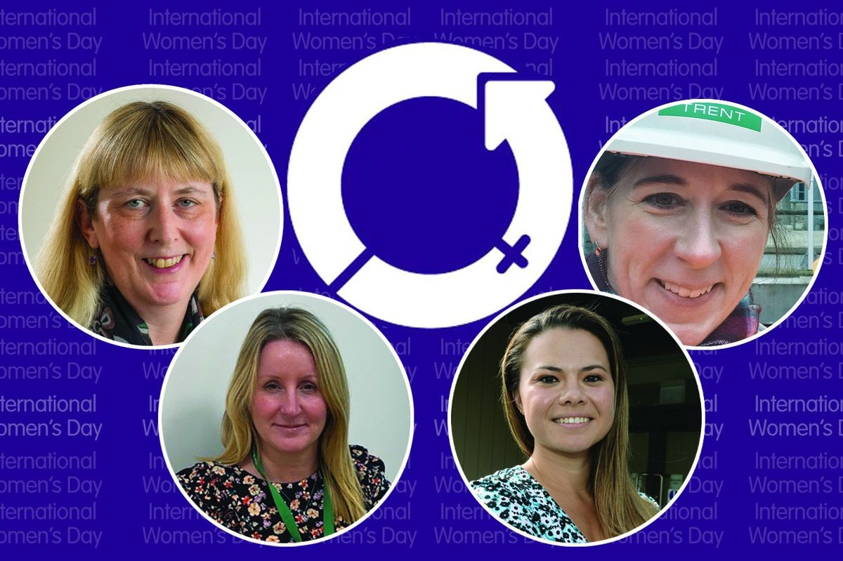 Left to right: Alison Fisher, Emma Humphries, Krissi Carter, Steph Cawley