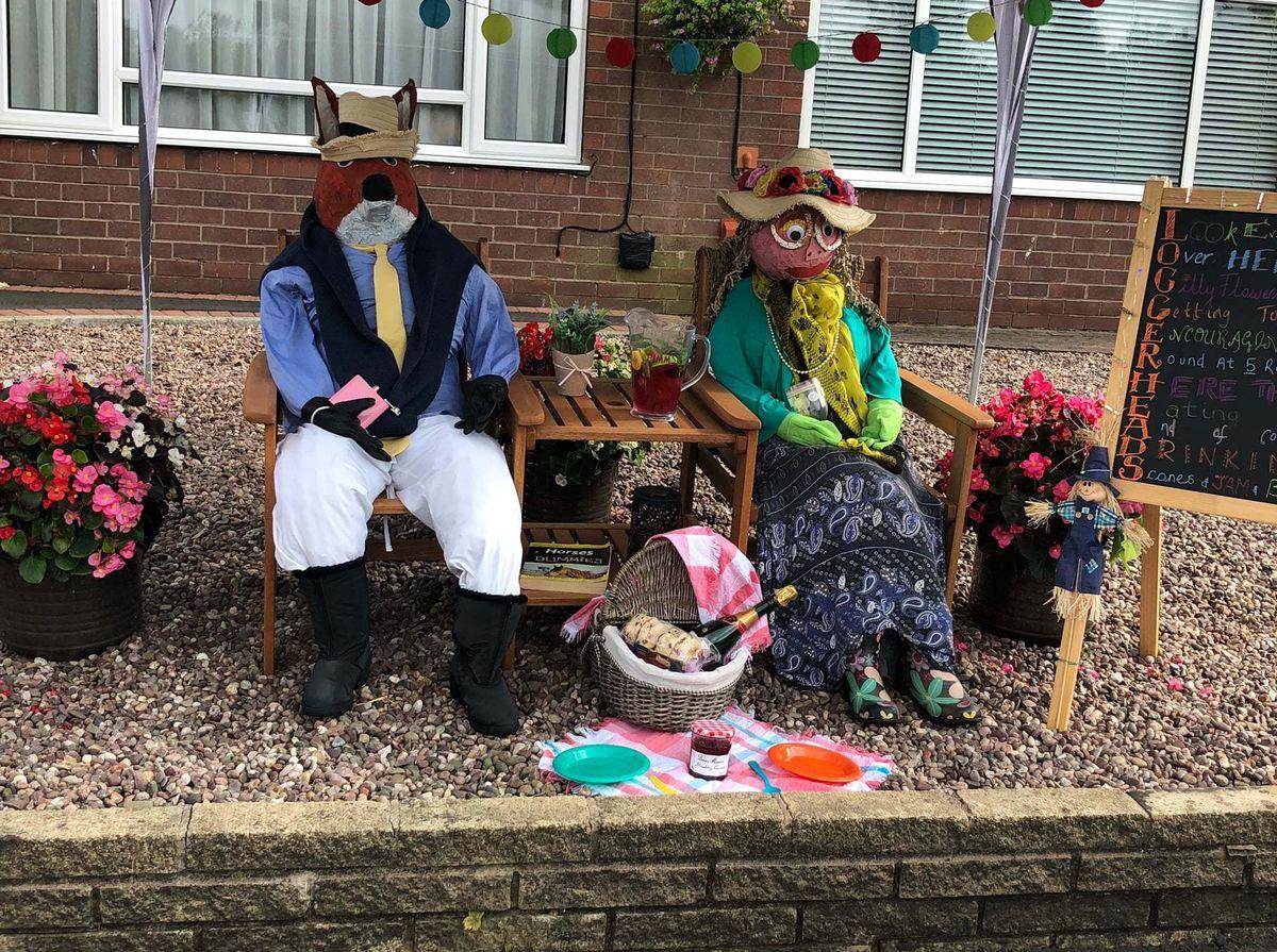 Loggerheads Scarecrow Festival