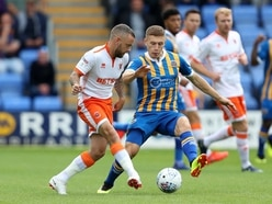 Shrewsbury Town 0 Blackpool 0 - Report and pictures