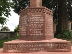 'But I can't read it': War memorial restored after child's remark
