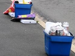 No lids for plastics recycling boxes - despite plea following windy Shropshire weather
