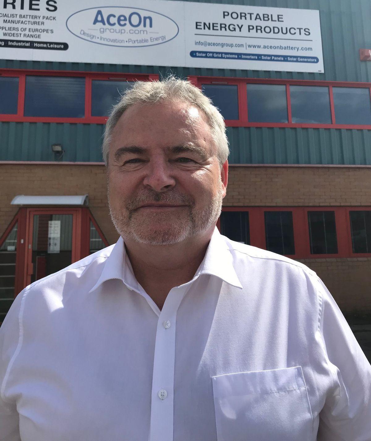Richard Partington, managing director of Telford-based AceOn