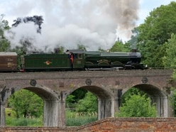 Steam rises again on old Telford railway line