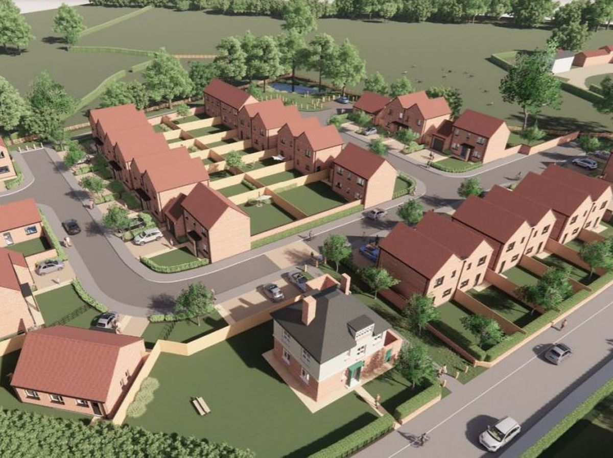 The plans for the Ifton Heath Primary School site in St Martins