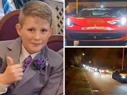 Christian Chandler: 200 join car cruise as £11,000 raised towards funeral of Telford teenager killed in bus crash