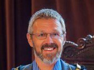 Mayor of Newtown, Councillor Richard Edwards