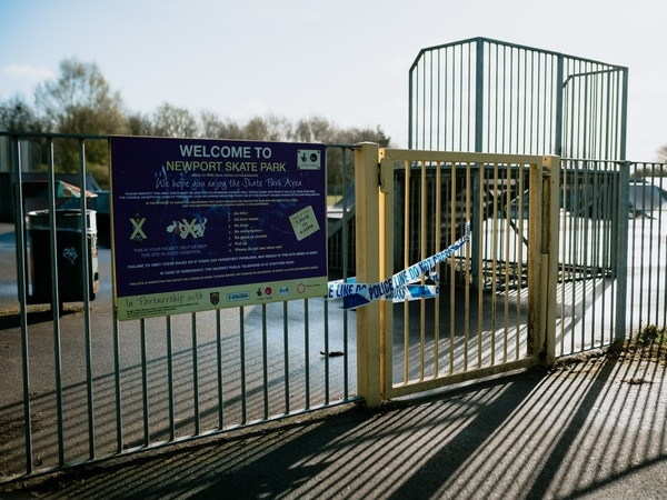 Police frustration as Newport family flouts coronavirus lockdown to visit a BMX track