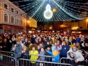 Last year's Christmas lights switch-on and carol concert