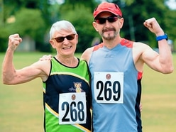 Wenlock Olympian Games: 9,000-mile trip no bother to runner Lavinia, 74 - with pictures