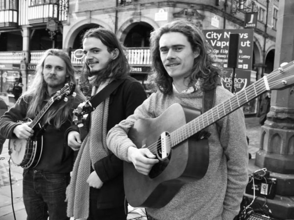 The Trials of Cato: Up-and-coming folk trio formed in Beirut to play Birmingham and Shropshire