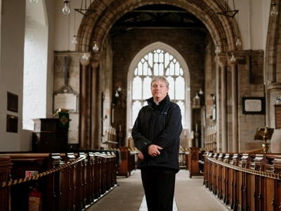 Much Wenlock church welcomes worshippers